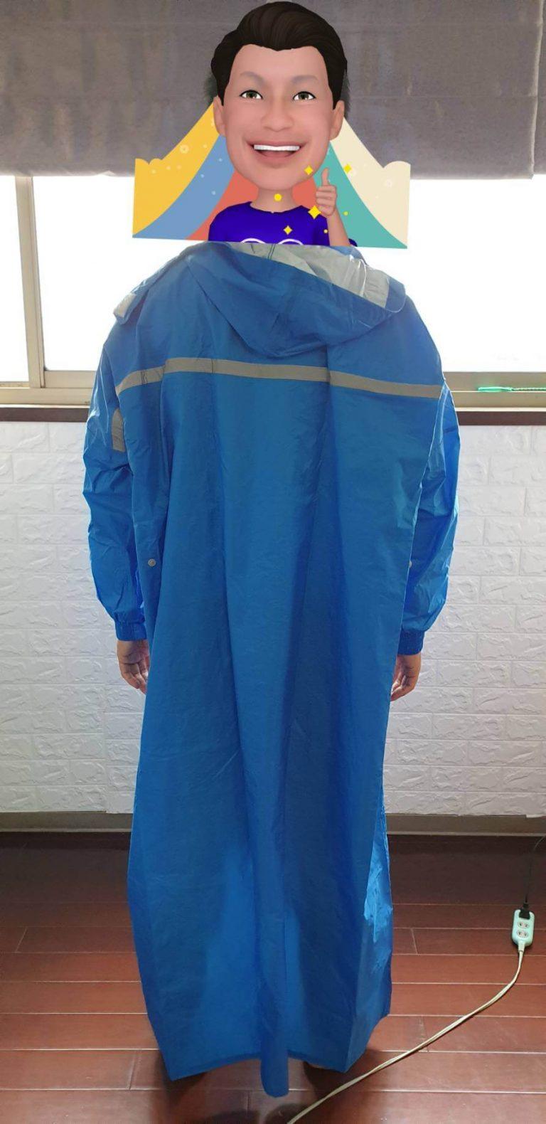 MIT製造雙龍牌雨衣