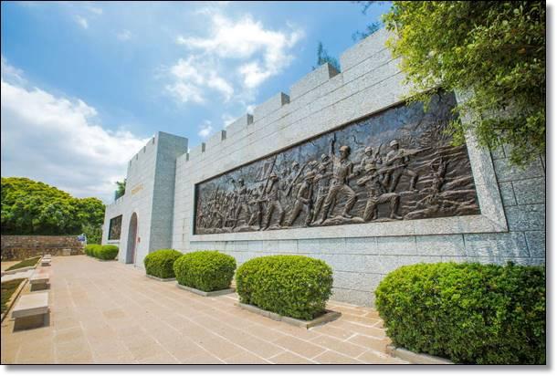 古寧頭戰史館浮雕壁畫