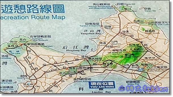 金門太武山海拔250公尺