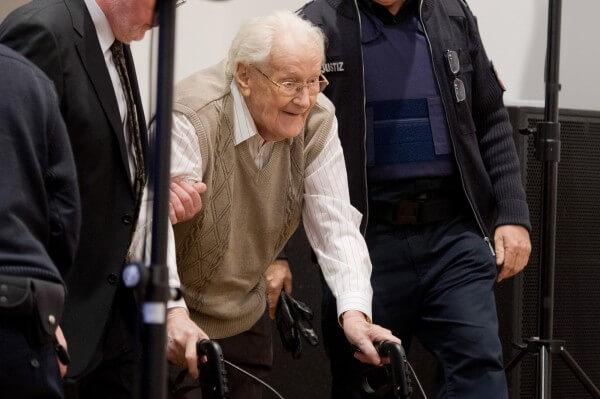 93歲二戰前納粹集中營軍官受審