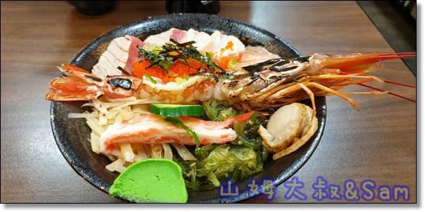 中壢平價日式料理豪華滝神丼