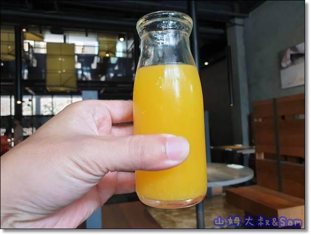 村民食堂枊橙汁